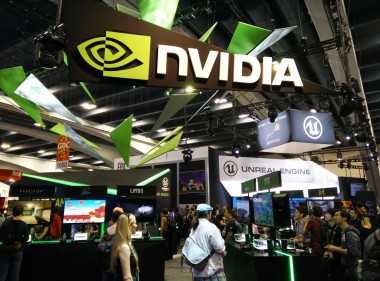 Nvidia had their Shield hardware out in force