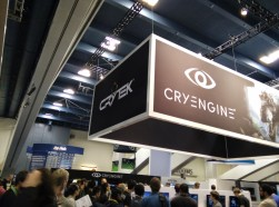Cryengine had a sizeable presence